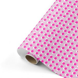 Cadeaupapier dots rose/neon, Studio Stationery 1