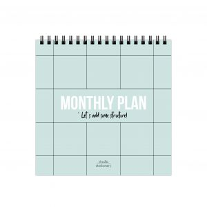Monthly plan bureaukalender, Studio Stationery 1