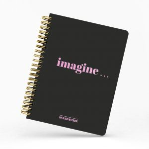 My black notebook, Studio Stationery 1