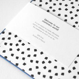 My blue Notebook, Studio Stationery 6