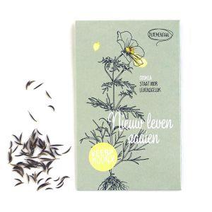 """Bloemenzaden, """"Nieuw leven zaaien"""", Veer&Moon 1"""