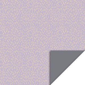 Cadeaupapier lila met beige dot (HOP) 2