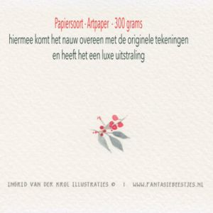 Dubbele kaart Bijzonder mens, Ingrid van der Krol 4