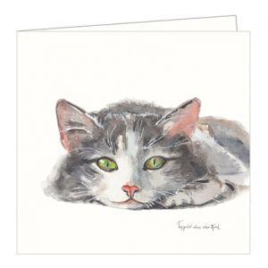 Dubbele kaart kat, Ingrid van der Krol 1