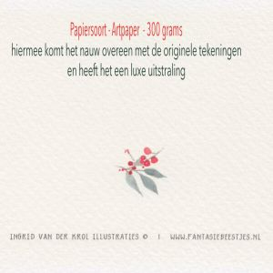 Dubbele kaart konijntje, Ingrid van der krol 3