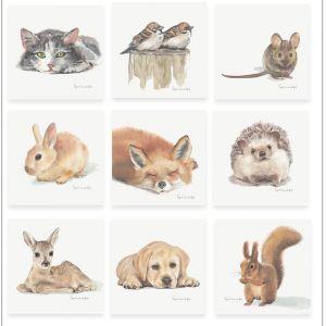 Minikaartje eekhoorn, Ingrid van der Krol 2