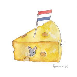 Minikaartje Hollandse kaas, Ingrid van der Krol 1