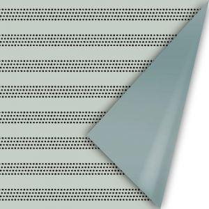 Cadeaupapier herfst 21 sage met raster - groen metallic (CWH) 2