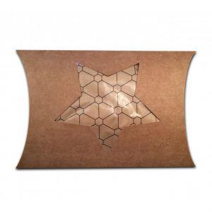 Pillowbox craft met uitsparing ster 1