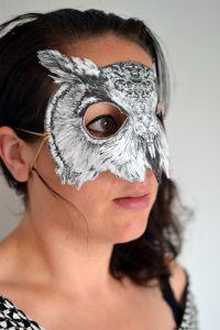 Masker kaart Uil Cebine 2