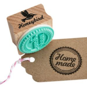 """Stempel """"Home made"""", Miss Honeybird 1"""