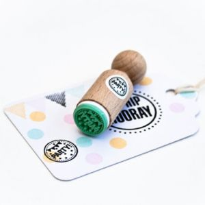 Mini stempel Party, Miss Honeybird 1