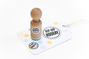 Mini stempel Party, Miss Honeybird 3