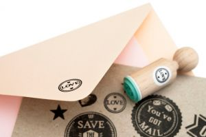 "Mini stempel ""Love"", Miss Honeybird 2"