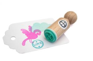 "Mini stempel ""Love"", Miss Honeybird 4"
