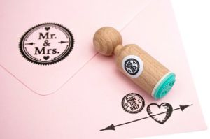 "Mini stempel ""Save the date"" Miss Honeybird 4"