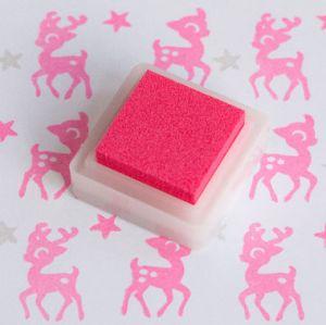 Stempelkussen pink/roze Versacolor mini 1