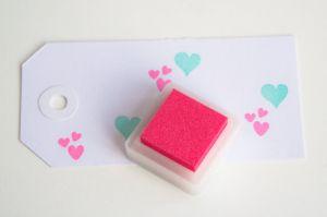 Stempelkussen pink/roze Versacolor mini 2