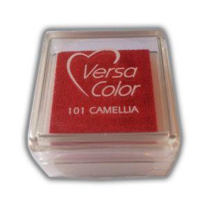Stempelkussen Camelia Versacolor mini (rood)