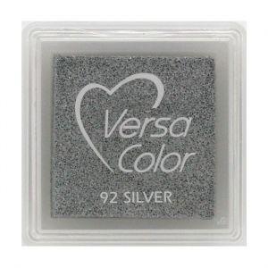 Versacolor zilver metallic stempelkussen klein 2