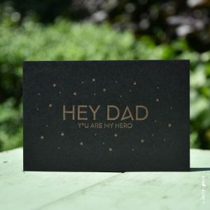HEY Dad kaart Letterpers 1