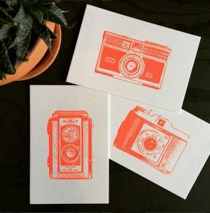 Camera kaart Kodak Duaflex Letterpers 3