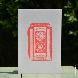 Camera kaart Kodak Duaflex Letterpers 1
