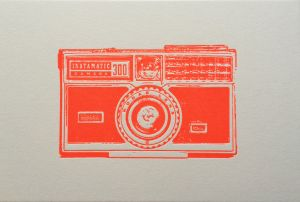 Camera kaart Kodak Instamatic Letterpers 2