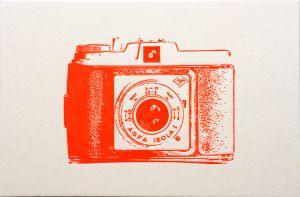Camera kaart Agfa Letterpers 1