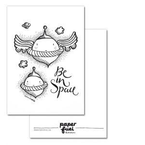 Be in space A6 kaart Paperfuel