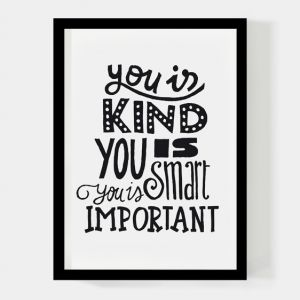 You is kind A4 poster Paperfuel 1