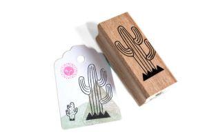 Stempel cactus (lijntjes) Miss Honeybird 2