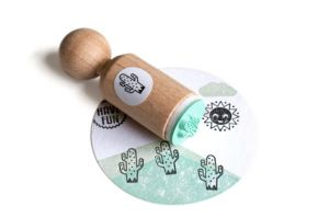 Mini stempel cactus (spikkel) Miss Honeybird 3