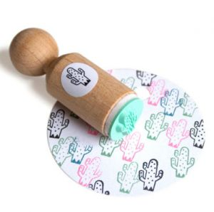Mini stempel cactus (spikkel) Miss Honeybird 1