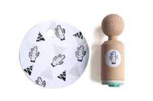 Mini stempel cactus (spikkel) Miss Honeybird 2