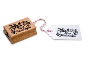 Stempel Fijne feestdagen, Miss Honeybird 2