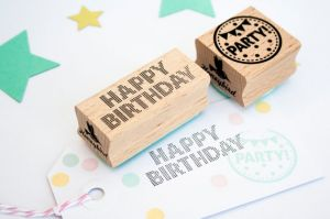 Stempel Happy Birthday Miss Honeybird 3
