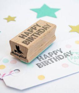 Stempel Happy Birthday Miss Honeybird