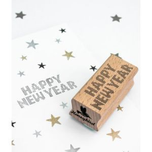 Stempel Happy New Year Miss Honeybird 1
