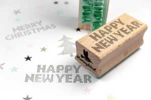Stempel Happy New Year Miss Honeybird 3