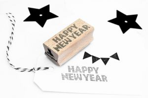 Stempel Happy New Year Miss Honeybird 4