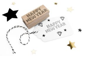 Stempel Happy New Year Miss Honeybird 5