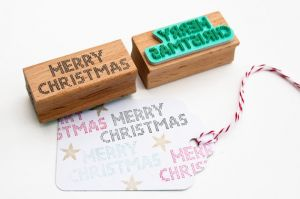 Stempel Merry Christmas, Miss Honeybird 5