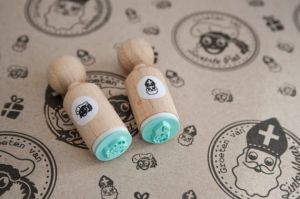 Mini stempel Sinterklaas, Miss Honeybird 4