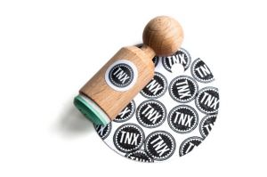 "Mini stempel ""TNX"", Miss Honeybird 5"