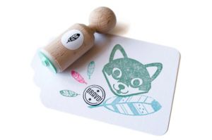 Mini stempel veer, Miss Honeybird 3