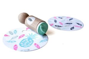 Mini stempel veer, Miss Honeybird 4