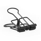 Binder clips zilver - goud - zwart 5