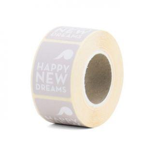 Happy New Dreams sticker nude/lila, Tinne+mia 1