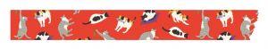 Maskingtape rood poezen en katten Maste 2